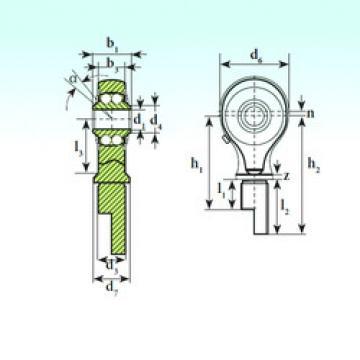 Bearing TSM 17-01 BB-E ISB