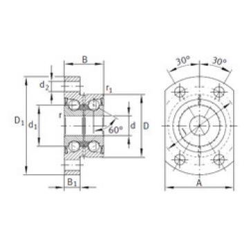 Bearing ZKLFA1263-2Z INA